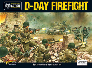 Bolt Action Starter Game - D-Day Firefight