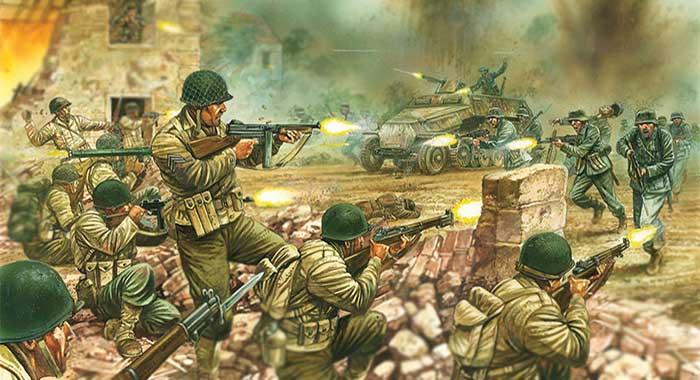 D-Day Firefight Bolt Action starter set