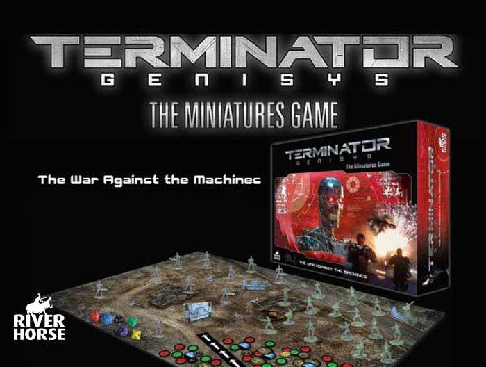 Terminator Genisys Warlord Games